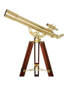 CELESTRON - Ambassador 80 AZ Brass Telescope